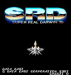 SRD Super Real Darwin (ARC)  © Data East 1987   1/3
