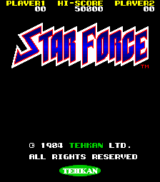 Star Force (ARC)  © Tecmo 1984   1/3