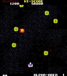 Star Force (ARC)  © Tecmo 1984   2/3