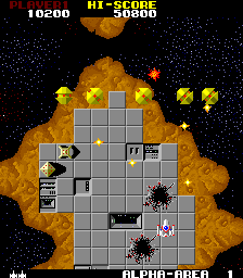 Star Force (ARC)  © Tecmo 1984   3/3