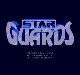 Star Guards (ARC)  © Bally Midway 1986   1/4