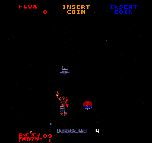 Star Guards (ARC)  © Bally Midway 1986   4/4