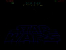 Star Wars (ARC)  © Atari (1972) 1983   1/5