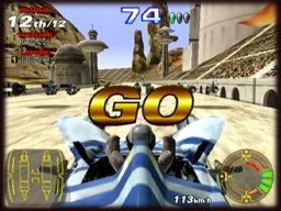 Star Wars Racer Arcade (ARC)  © Sega 2000   1/3