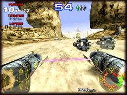 Star Wars Racer Arcade (ARC)  © Sega 2000   2/3