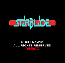 Starblade (ARC)  © Namco 1991   1/5