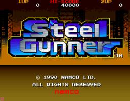 Steel Gunner (ARC)  © Namco 1990   1/3