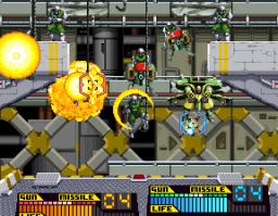 Steel Gunner (ARC)  © Namco 1990   2/3