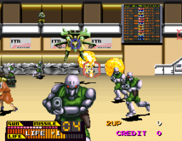Steel Gunner (ARC)  © Namco 1990   3/3