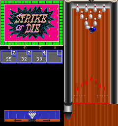 Strata Bowling (ARC)  © Strata 1990   2/3
