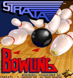 Strata Bowling (ARC)  © Strata 1990   1/3