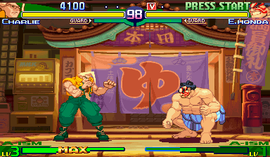 Street Fighter Alpha 3 (ARC)  © Capcom 1998   4/14