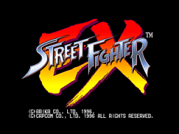 Street Fighter EX (ARC)  © Capcom 1996   1/4