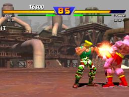Street Fighter EX (ARC)  © Capcom 1996   3/4
