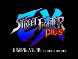 Street Fighter EX Plus (ARC)  © Capcom 1997   1/3