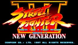 Street Fighter III: New Generation (ARC)  © Capcom 1997   1/5