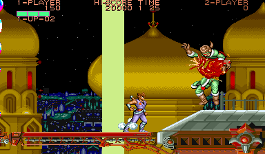 Strider (ARC)  © Capcom 1989   6/8