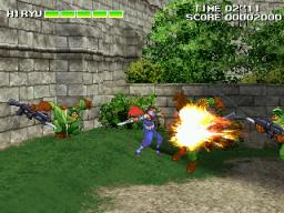 Strider 2 (ARC)  © Capcom 1999   3/5