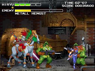 Strider 2 (ARC)  © Capcom 1999   4/5