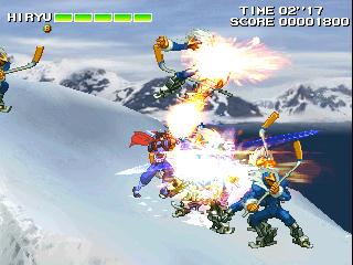 Strider 2 (ARC)  © Capcom 1999   5/5