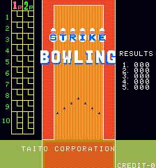 Strike Bowling (ARC)  © Taito 1982   1/3