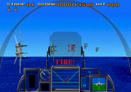Strike Fighter (ARC)  © Sega 1991   3/4