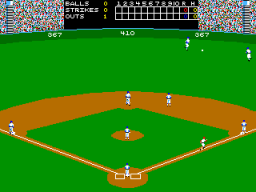 Strike Zone Baseball (ARC)   © Leland 1988    3/3