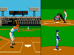 Strike Zone Baseball (ARC)   © Leland 1988    2/3