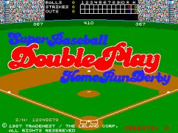 Super Baseball Double Play: Home Run Derby (ARC)  © Leland 1987   1/3