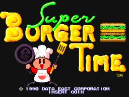 Super BurgerTime (ARC)  © Data East 1990   1/5