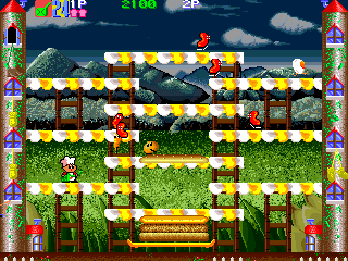 Super BurgerTime (ARC)  © Data East 1990   5/5