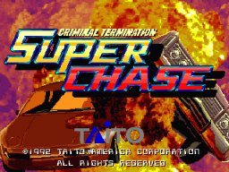 Super Chase: Criminal Termination (ARC)  © Taito 1992   1/7