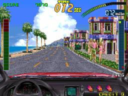 Super Chase: Criminal Termination (ARC)  © Taito 1992   2/7