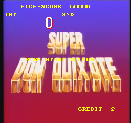 Super Don Quixote (ARC)  © Universal 1984   1/4