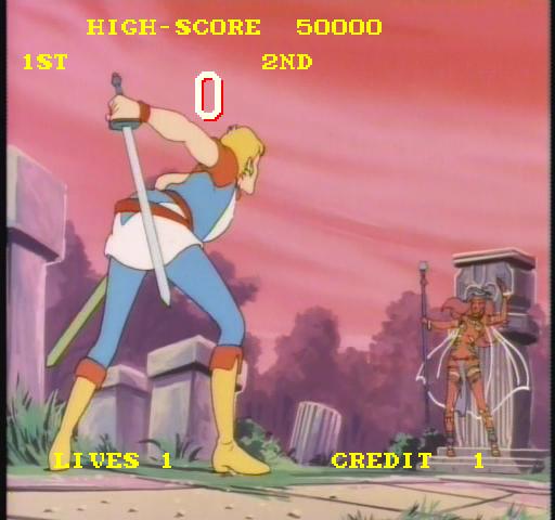 Super Don Quixote (ARC)  © Universal 1984   4/4