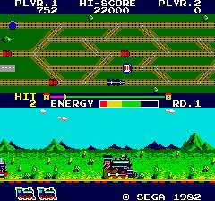 Super Locomotive (ARC)  © Sega 1982   2/3