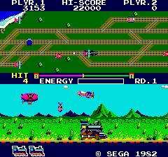 Super Locomotive (ARC)  © Sega 1982   3/3