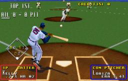 Super Major League (ARC)  © Sega 1995   2/3