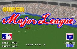 Super Major League (ARC)  © Sega 1995   1/3