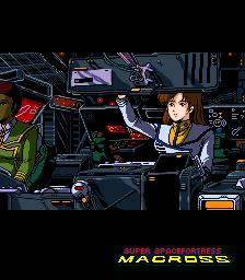 Super Spacefortress Macross (ARC)  © Banpresto 1992   2/4