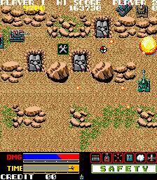 Super Stingray (ARC)  © ADK 1986   4/5