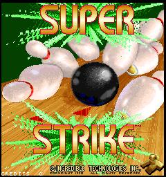 Super Strike (ARC)  © Stern 1990   1/3