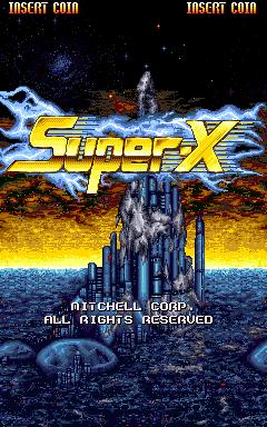 Super-X (ARC)  © Mitchell 1994   1/4
