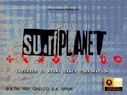 Surf Planet (ARC)  © Gaelco 1997   1/3