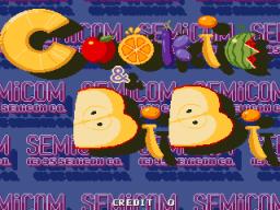 Cookie & Bibi (ARC)  © SemiCom 1995   1/4