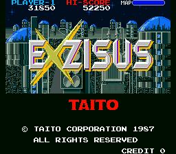 Exzisus (ARC)  © Taito 1987   1/4
