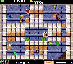 Solomon's Key (ARC)  © Tecmo 1986   2/5