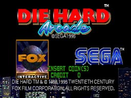 Die Hard Arcade (ARC)  © Sega 1996   1/7