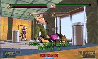 Die Hard Arcade (ARC)  © Sega 1996   7/7