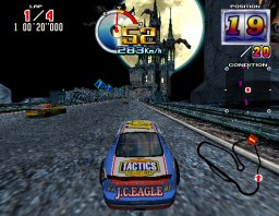 Daytona USA 2: Power Edition (ARC)  © Sega 1999   3/3
